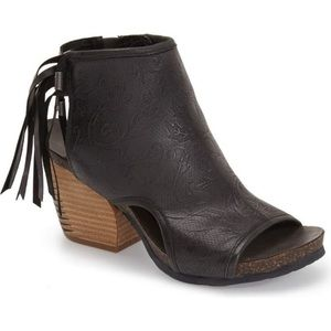 OTBT Free Spirit Fringed Ankle Booties